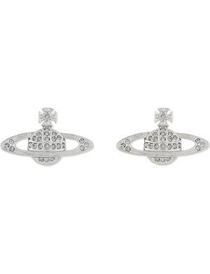 VIVIENNE WESTWOOD JEWELLERY Bas Relief Orb stud earrings