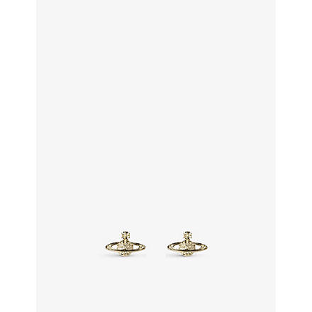 VIVIENNE WESTWOOD JEWELLERY Bas Relief earrings jonquil (Jonquil