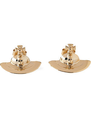 VIVIENNE WESTWOOD JEWELLERY Solid orb stud earrings
