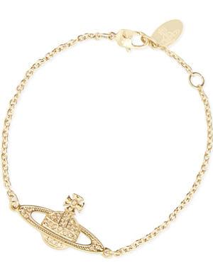 VIVIENNE WESTWOOD JEWELLERY Bas relief diamanté orb bracelet