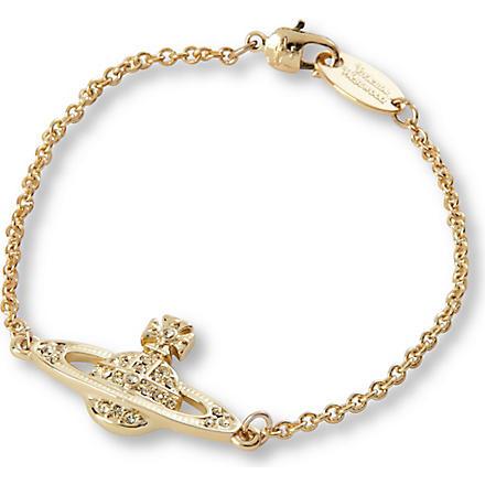VIVIENNE WESTWOOD JEWELLERY Orb jonquil bracelet (Gold