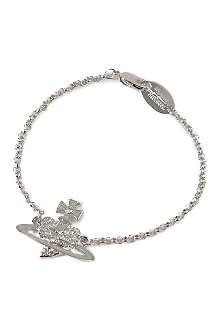 VIVIENNE WESTWOOD Reverse heart bracelet