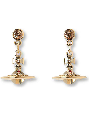 VIVIENNE WESTWOOD JEWELLERY Tiny orb drop earrings