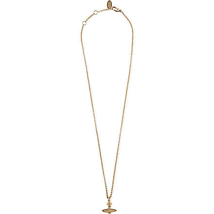 VIVIENNE WESTWOOD JEWELLERY Orb petite pendant (Gold