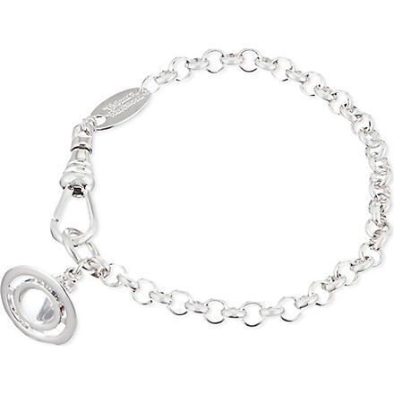 VIVIENNE WESTWOOD JEWELLERY Classic Tiny Orb bracelet (Silver