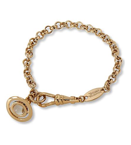 VIVIENNE WESTWOOD JEWELLERY Orb petite bracelet (Gold