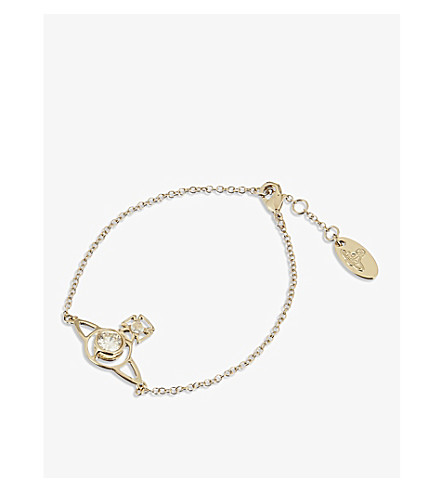 VIVIENNE WESTWOOD JEWELLERY Nora bracelet (Gold
