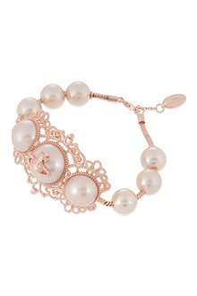 VIVIENNE WESTWOOD Isolde large pearl bracelet