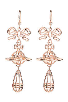 VIVIENNE WESTWOOD Orb drop earrings