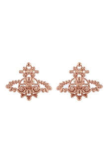 VIVIENNE WESTWOOD JEWELLERY Isolde Bas Relief earrings