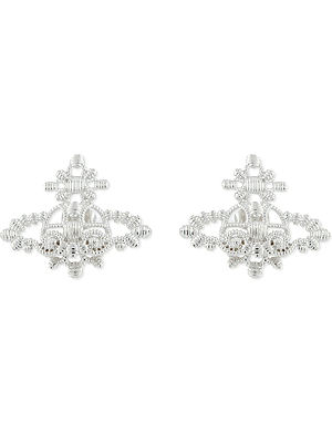 VIVIENNE WESTWOOD JEWELLERY Isolde Bas Relief orb stud earrings