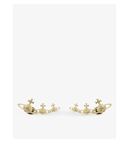 VIVIENNE WESTWOOD JEWELLERY Candy stud earrings (Gold
