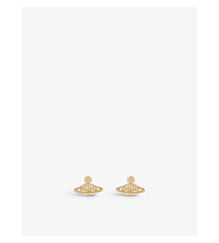 VIVIENNE WESTWOOD JEWELLERY Farah earrings (Gold