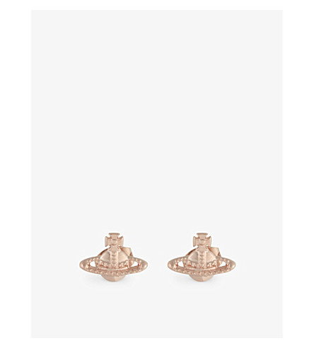 VIVIENNE WESTWOOD JEWELRY Farah earrings (Pink+gold