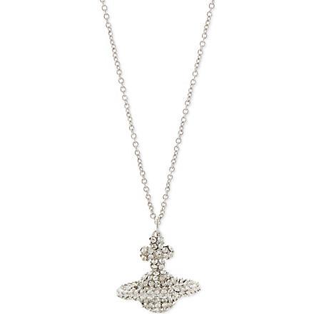 VIVIENNE WESTWOOD Grace pendant (Crystal/rhodium