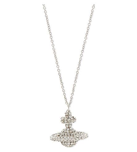 VIVIENNE WESTWOOD JEWELLERY Grace pendant (Crystal/rhodium