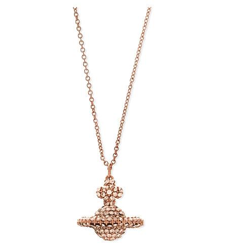 VIVIENNE WESTWOOD JEWELLERY Grace pendant (Silk/pink gold