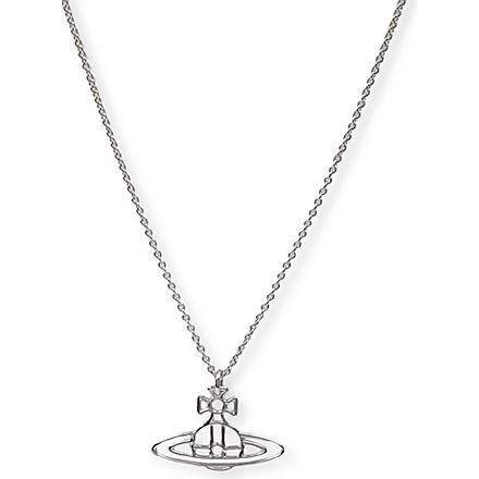 VIVIENNE WESTWOOD JEWELLERY Thin Lines Orb pendant (Silver