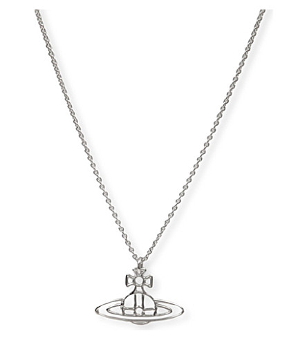 VIVIENNE WESTWOOD JEWELLERY Thin Lines Orb pendant (Silver