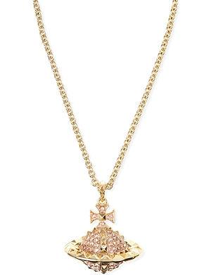 VIVIENNE WESTWOOD JEWELLERY Mayfair large orb pendant necklace