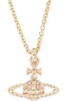 VIVIENNE WESTWOOD JEWELLERY Mayfair bas relief pendant necklace