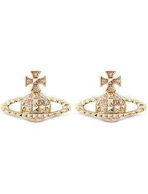 VIVIENNE WESTWOOD JEWELLERY Mayfair bas relief stud earrings
