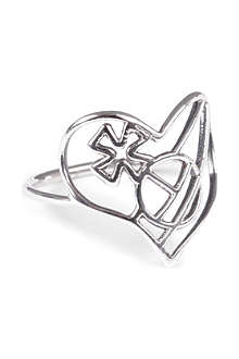 VIVIENNE WESTWOOD Thin Lines Heart ring