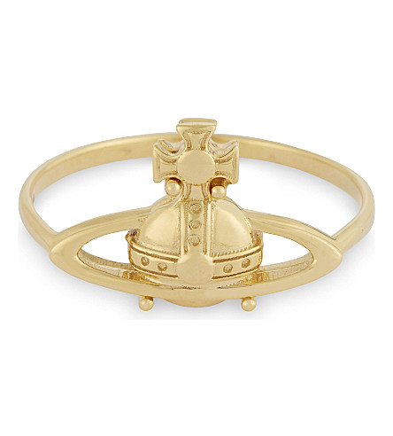 VIVIENNE WESTWOOD JEWELLERY Suzie ring (Gold
