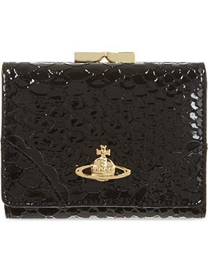 VIVIENNE WESTWOOD Frilly frame purse