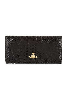 VIVIENNE WESTWOOD Large Monaco leather wallet