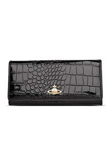 VIVIENNE WESTWOOD Chancery patent leather wallet