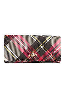 VIVIENNE WESTWOOD Chancery Derby slim continental wallet