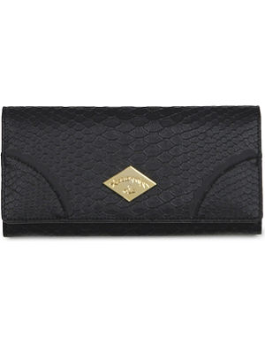VIVIENNE WESTWOOD Frilly Snake patent wallet