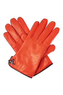 VIVIENNE WESTWOOD Classic leather gloves