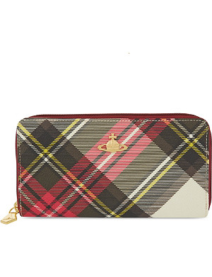 VIVIENNE WESTWOOD Derby zip-around purse