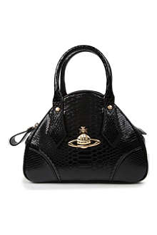 VIVIENNE WESTWOOD Frilly Snake Yasmine small tote