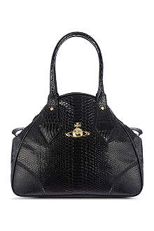 VIVIENNE WESTWOOD Frilly snake Yasmin tote