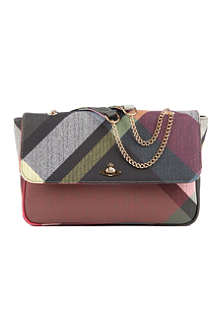 VIVIENNE WESTWOOD Derby chain shoulder bag