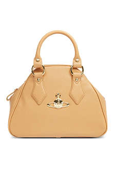 VIVIENNE WESTWOOD Divina Yasmine small leather handbag