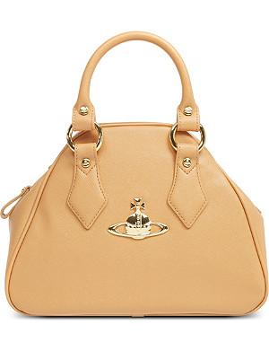 VIVIENNE WESTWOOD Divina Yasmine small leather handbag