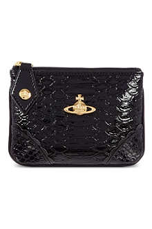 VIVIENNE WESTWOOD Frilly Snake coin purse