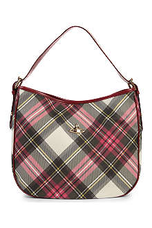 VIVIENNE WESTWOOD Derby coated-cotton hobo
