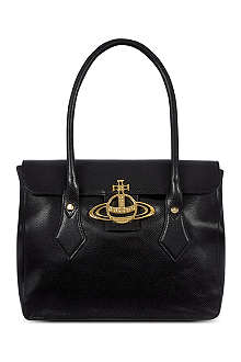 VIVIENNE WESTWOOD Leather tote