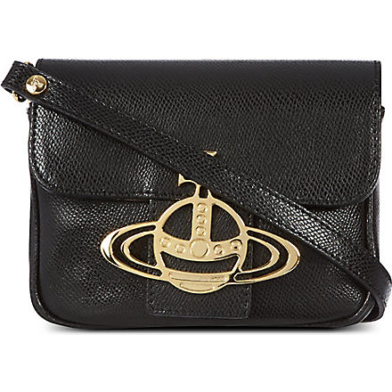 VIVIENNE WESTWOOD Liz Mimi cross-body bag (Nero