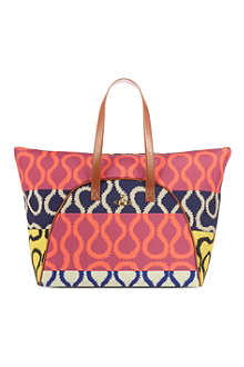 VIVIENNE WESTWOOD Multicoloured print bag