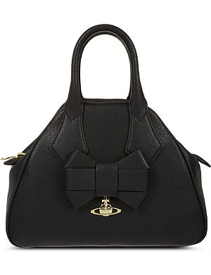 VIVIENNE WESTWOOD Yasmine small leather tote