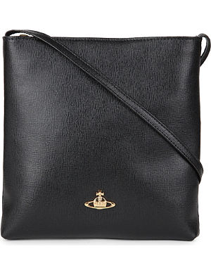 VIVIENNE WESTWOOD Leather cross-body bag