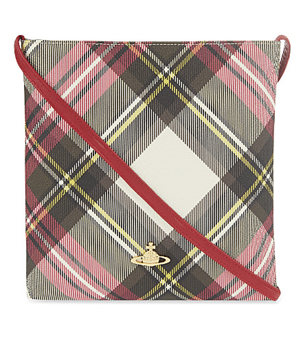 VIVIENNE WESTWOOD Derby tartan cross-body bag (New+exhibition
