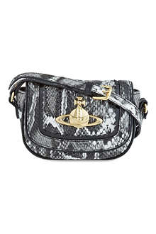 VIVIENNE WESTWOOD Frilly snake cross-body bag