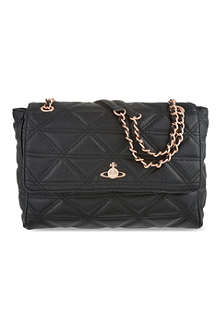 VIVIENNE WESTWOOD Large quilted chain bag